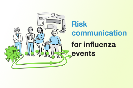 Risk communication for influenza events (English/Français/Español)
