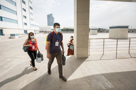 COVID-19 and work: Staying healthy and safe at work during the COVID-19 pandemic