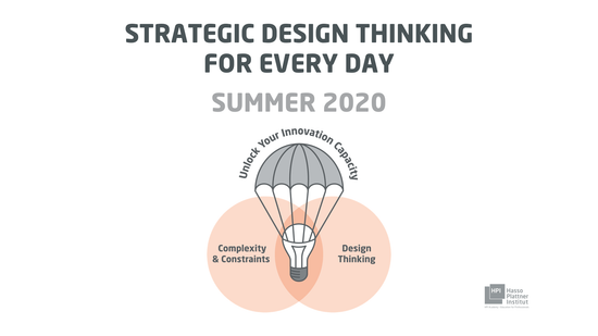 HPI Academy: Strategic Design Thinking For Every Day